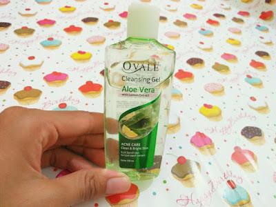 Review Ovale Cleansing Gel Aloe Vera