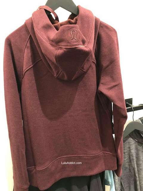 lululemon scuba-plush