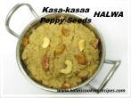 Kasakasaa PoppySeeds Halwa