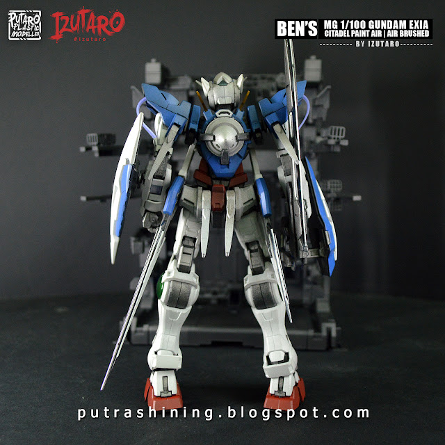 MG Gundam Exia Custom Paint Citadel Air Paints by Izutaro