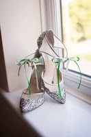 Sparkly Silver Wedding Shoes