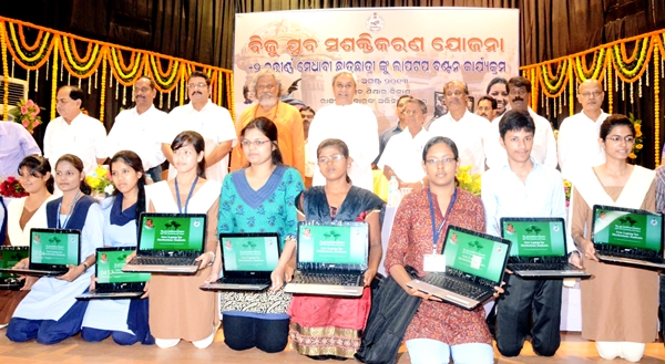 Free Laptops Distribution to Students in Odisha photos