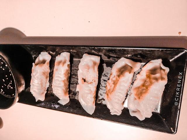 Pertama kali makan makanan korea di DubuYo