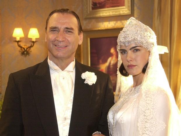 Um só coração Yolanda casamento