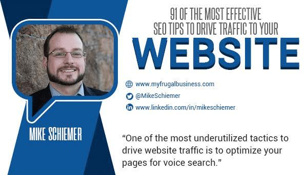 Mike Schiemer Michael J Schiemer SEO Google expert quote