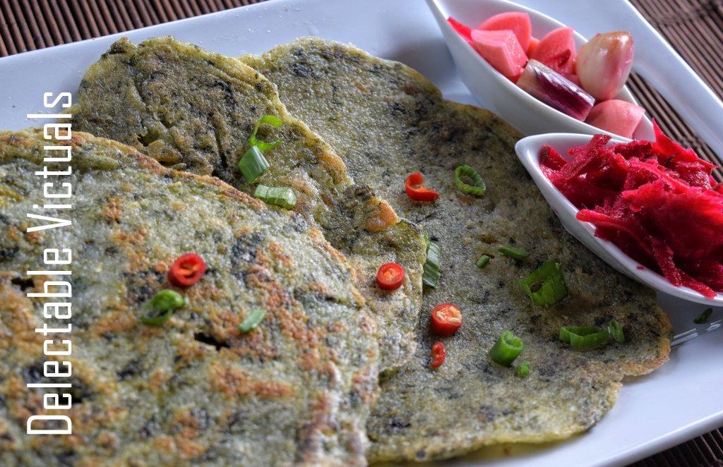 Verum Arisi Adai palakkad cuisine flatbread griddle-cake