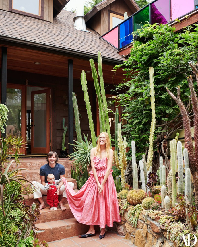 Cacti Garden in this Los Angeles Home- design addict mom- photography-Jason Schmidt