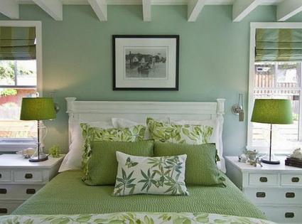 Best Bedrooms in Green Color Scheme 2
