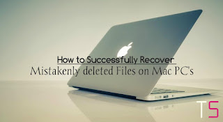 How To Successfully Recover Mistakenly Deleted Data in MAC PC's this 2018