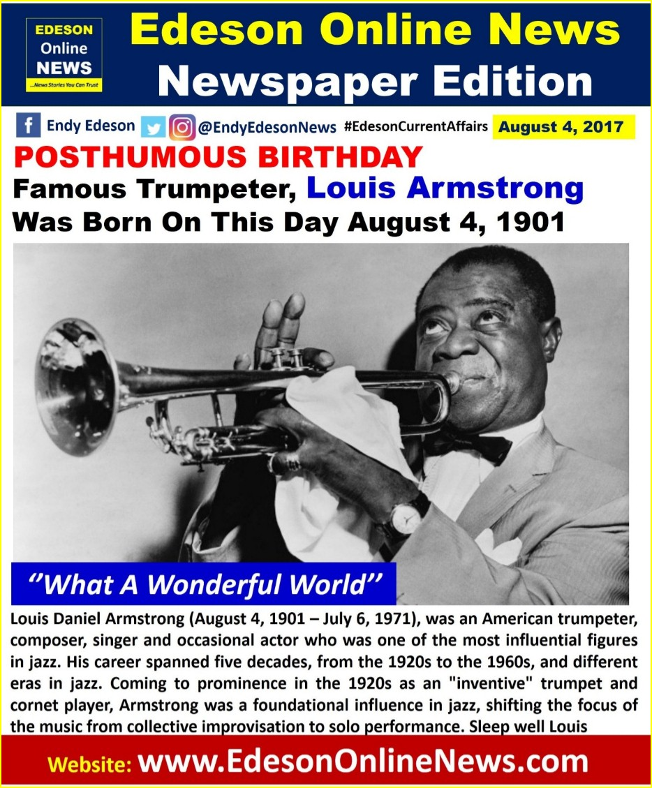 An analysis of the influence of jazz musician louis armstrong