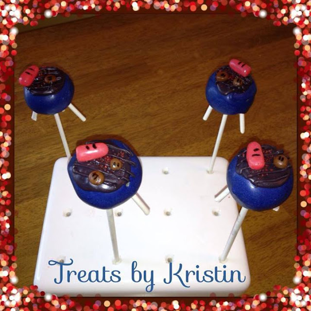 Summer Grillin Cake Pops by Treats by Kristin