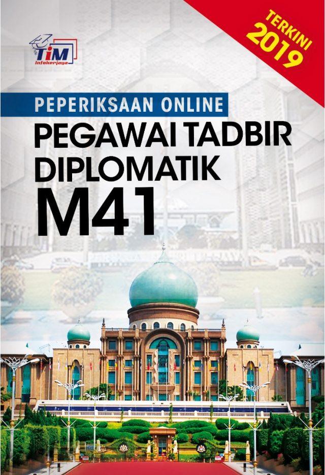 Peperiksaan Online Pegawai Tadbir Diplomatik M41 Mei 2019