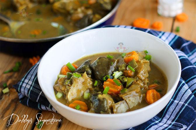 Nigerian goat curry