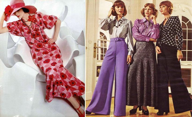 093a6c1dc Moda da década de 1970 remetendo à moda dos anos 1930.   Divulgação