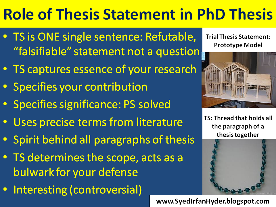 The Importance of Writing with Precision in a Thesis or Dissertation
