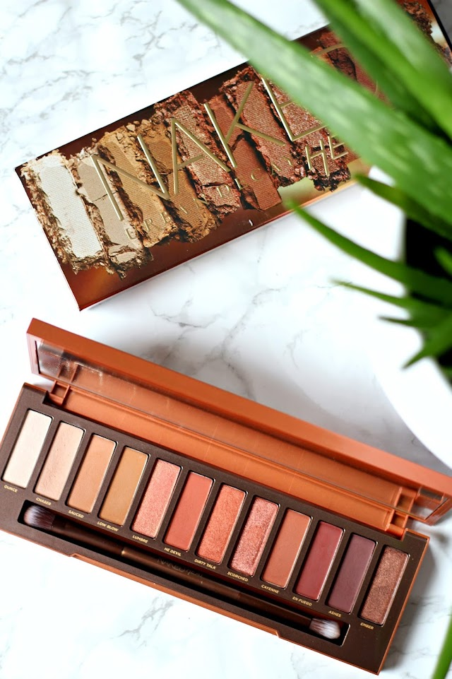 My Thoughts On Urban Decay's Naked Heat Palette + Swatches