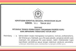Download Juknis TPP dan Inpassing Terutang 2017