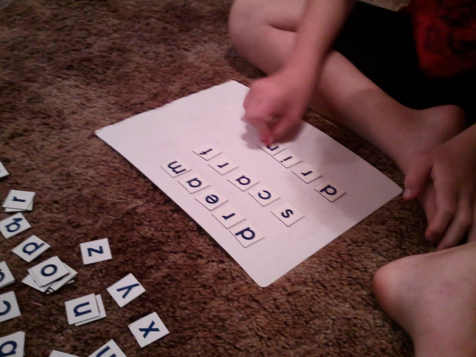 Special Connection Homeschool Spelling Activities