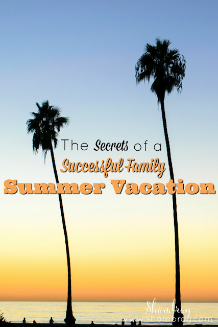 The Secrets of a Successful Family Summer Vacation