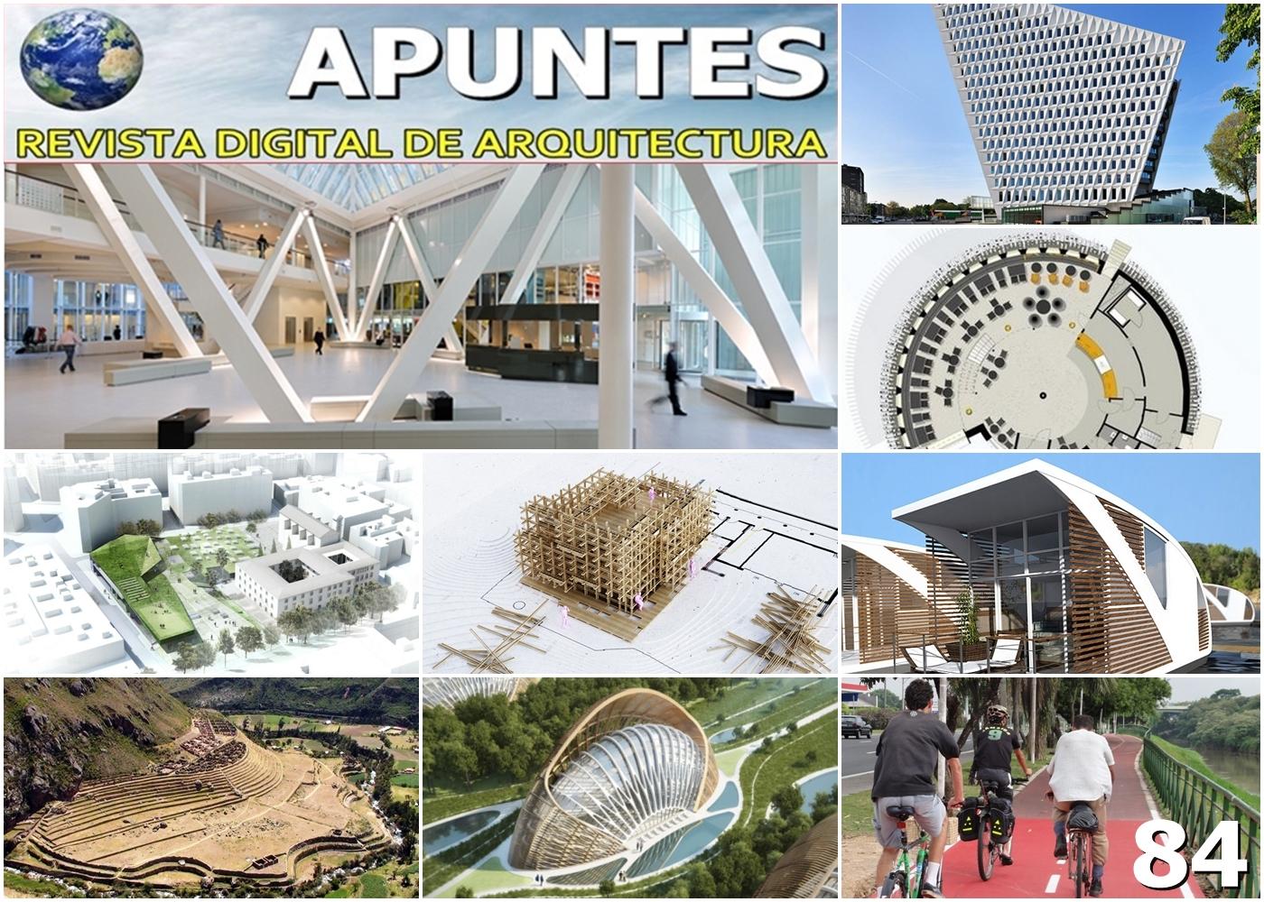Apuntes Revista Digital De Arquitectura Abril 2016
