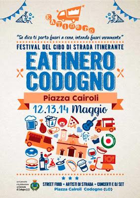 Eatinero, il festival street food 12-13-14 maggio Codogno (LO)