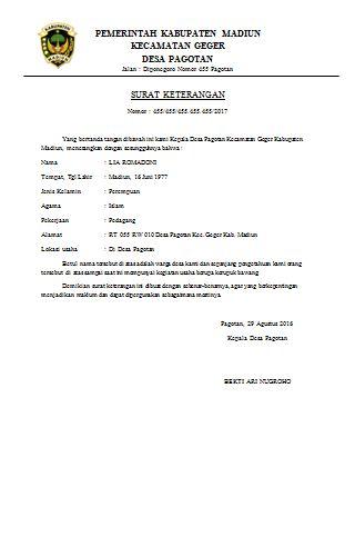 Surat Permohonan Pengangkatan Pegawai Negeri Sipil