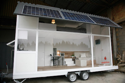 SOLAR POWERED TINY HOME BY VODAPHONE