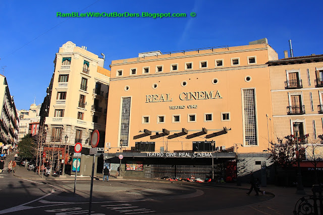 Real Cinema, Plaza Isabella II, Madrid, Spain