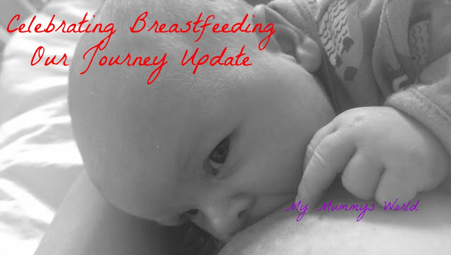 Celebrating Breastfeeding - Our Journey Updated