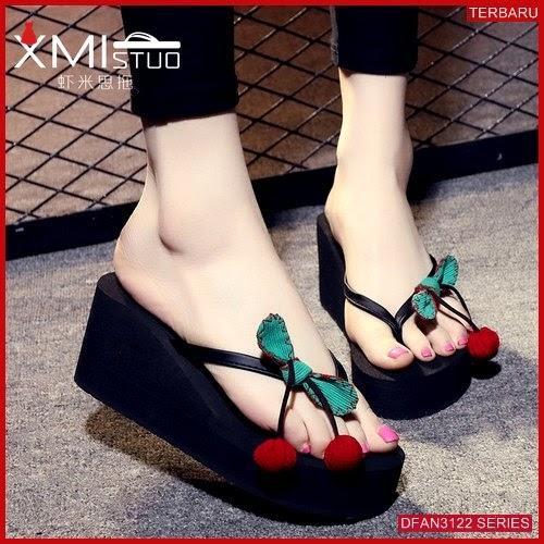 DFAN3122S195 Sepatu Pd31 Spon 7cm Wanita Wedges Murah BMGShop