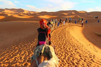 Caravana rumbo a Kairuán