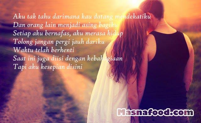 Puisi Cinta Untuk Kekasih ( Cinta Dalam Hati)