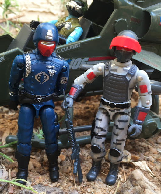 Steel Brigade, Mail Away, Sightline, Gary Goggles, Red Laser Army, Bootleg, Factory Custom, Crimson Guard, Black Major, Dragonfly, 1983