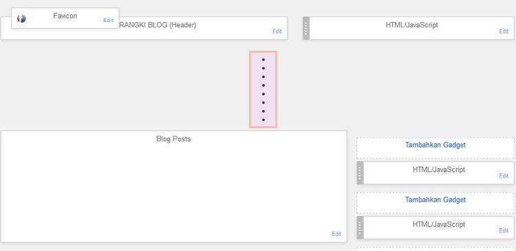 Cara Menghilangkan Bulat-bulat atau Titik Hitam Pada Tata Letak Blog