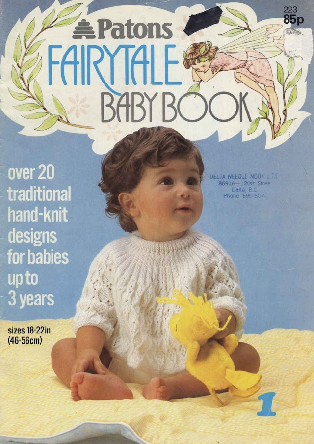 Revista Patons Fairytale Tricô Bebê