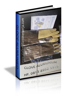 Sarung tangan Tahan Panas Alumunium
