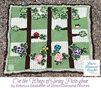 http://www.ravelry.com/patterns/library/105---spring-scene-pictoghan-baby-blanket
