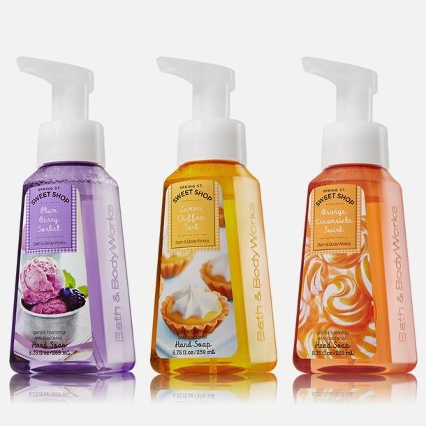 Bath Amp Body Works Sweet Shop Antibacterial Hand Soaps