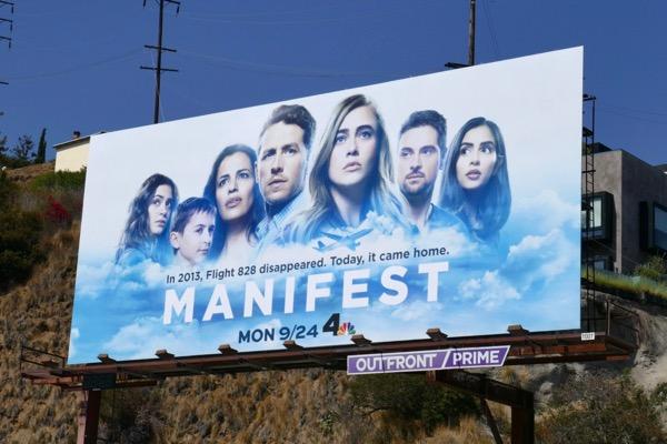 Manifest series premiere billboard