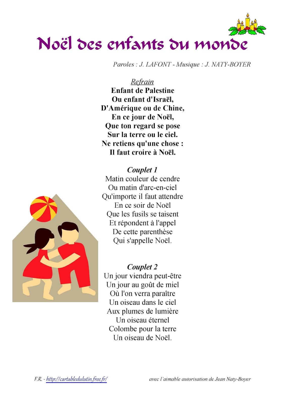 FM St-Jean: 2 chants de Noël (CI/1)