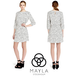 MAYLA Dress and TABITHA SIMMONS Pumps Crown Princess Style