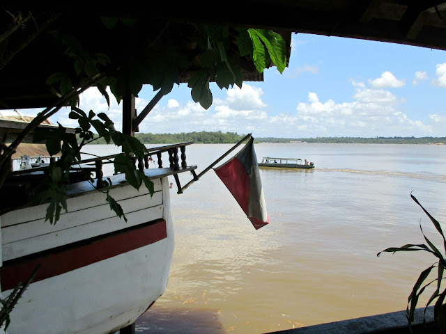 Guyane, Saint Laurent du maroni, la goélette, camp de la transportation, ville coloniale