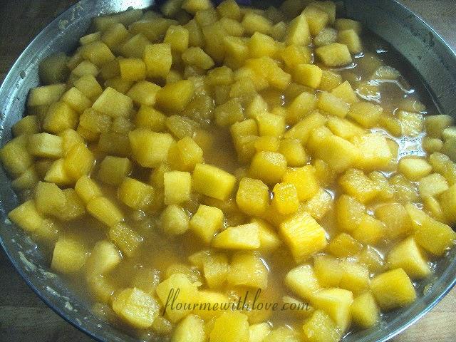 Summer squash or fresh fruit made into a delicious cobbler!