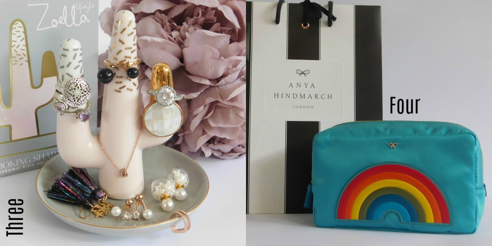 Current jewellery loves & Anya Hindmarch pouch