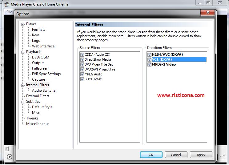 Media Player Classic Filehippo