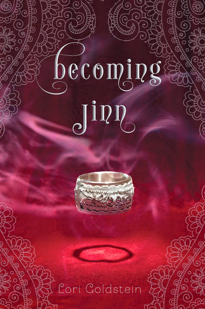 Becoming Jinn by Lori Goldstein cover and review