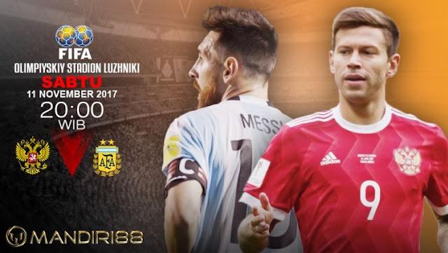 Prediksi Bola : Russia Vs Argentina , Sabtu 11 November 2017 Pukul 20.00 WIB