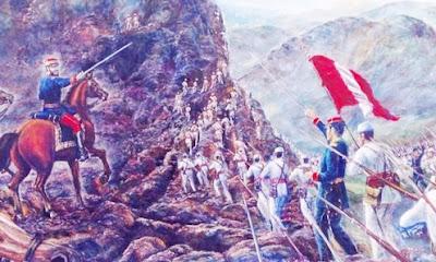 Imagen ejercito peruano en la Batalla de Tarapacá