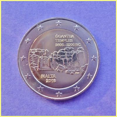 2 Euros Malta 2016 Ġgantija