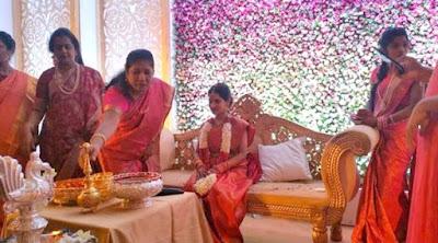 actor-chiyaan-vikrams-daughter-engaged-karunanidhis-grandson